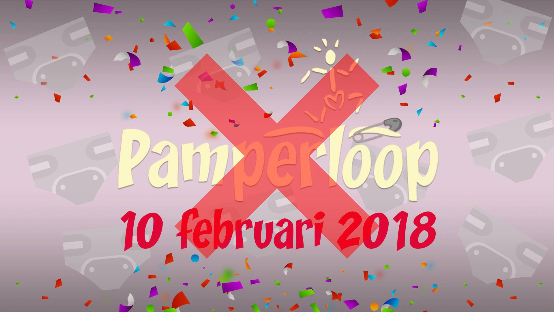 Pamperloop afgelast